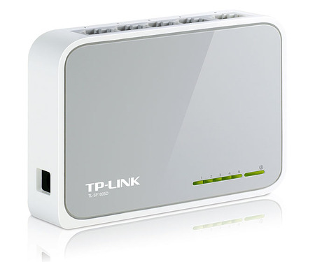 Switch TP-Link TL-SF1005D 5-портов 10/100