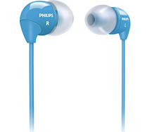 Наушники-капельки PHILIPS SHE3590BL/10 Blue