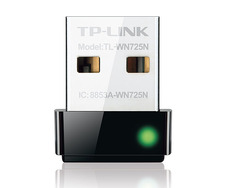 Контроллер USB 2.0 to Wi-Fi TP-Link TL-WN725N mini (802.11n/2.4 GHz/150 mbps/20 dBM)
