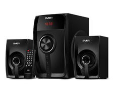 AC SVEN MS-307 (2.1) Black (2x10W + 20W) USB/SD/RC/FM Bluetooth