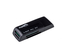 Card Reader Natec Genesis ANT 3 Mini USB 2.0 Black (NCZ-0560)