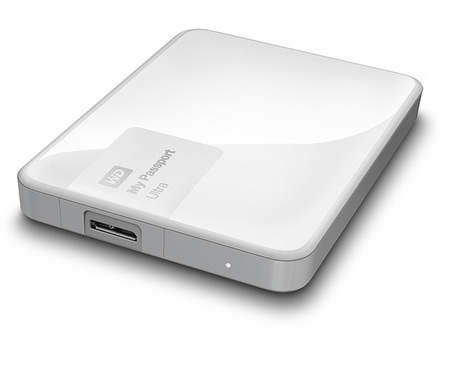 "HDD Ext 1TB 2.5"" WD My Passport Ultra (WDBGPU0010BWT) USB 3.0 White"